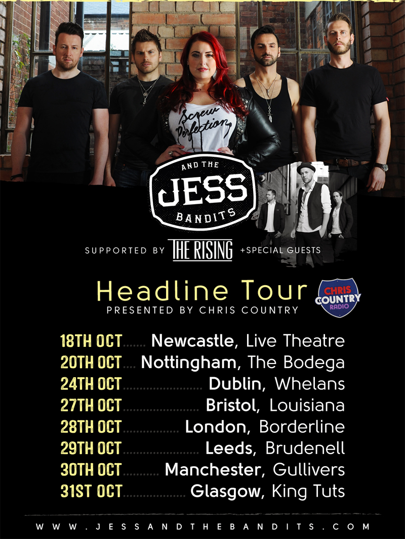Jess and the bandits with the rising tour