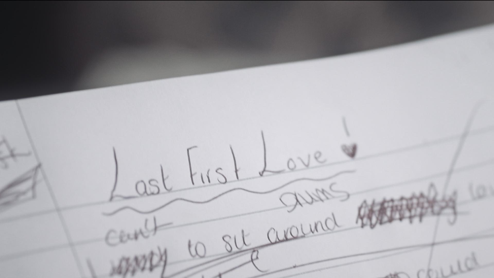 Last First Love (Music Video)