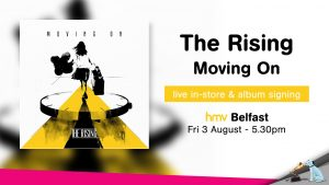the rising hmv instore and signing poster