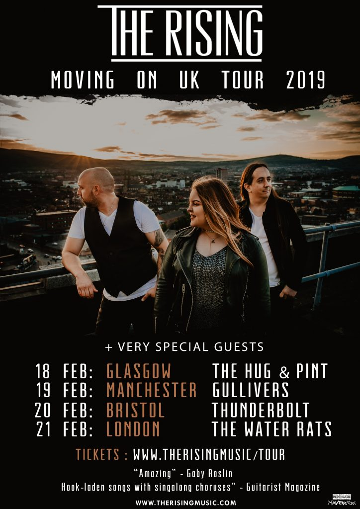The Rising UK Tour Poster