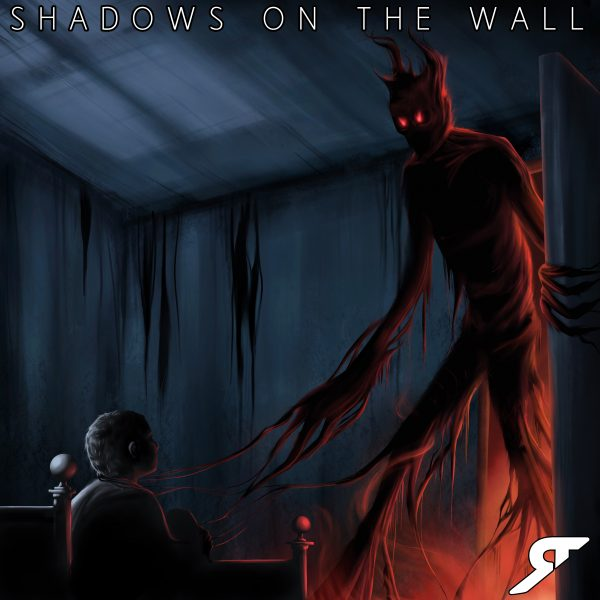 The rising shadows on the wall